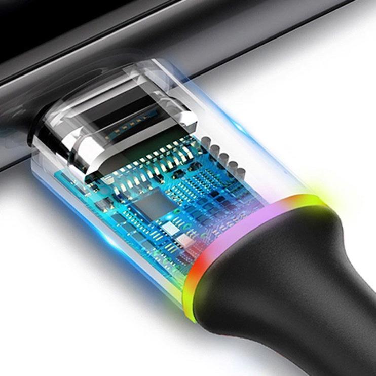 Baseus Halo USB To USB Type-C Cable 2m Black