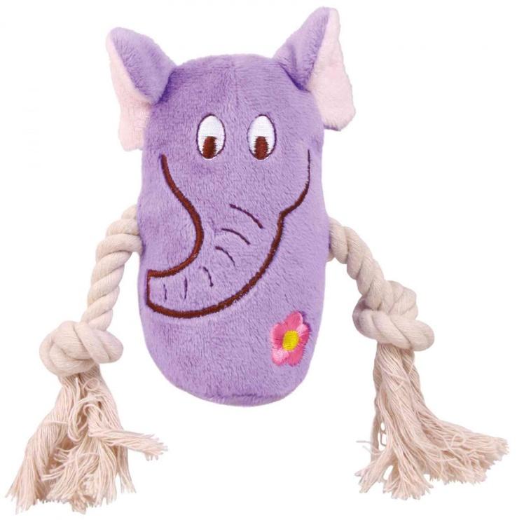 Trixie Dog Toys Plush Animals 4pcs 13cm