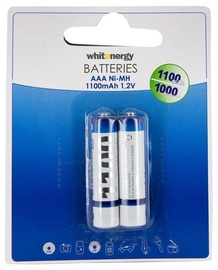 Whitenergy Rechargeable Battey 2 x AAA 1100mAh