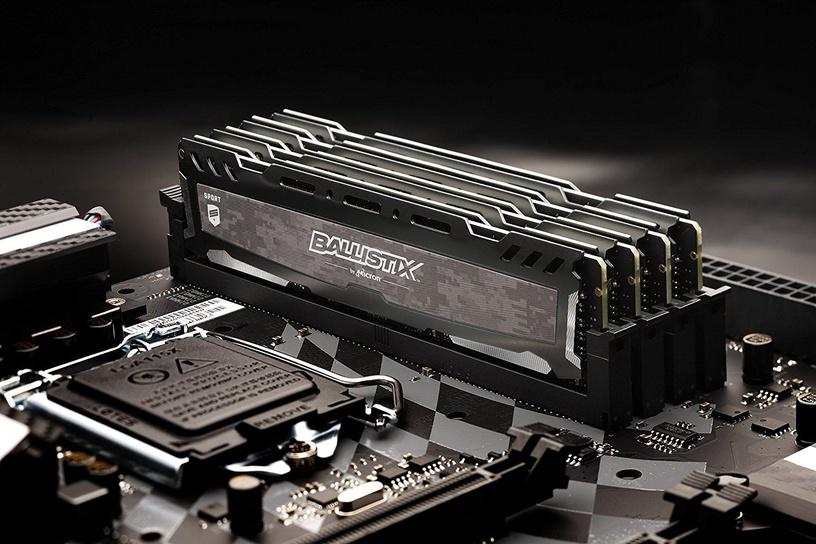 Crucial Ballistix Sport LT Grey 16GB 2666MHz CL16 DDR4 BLS16G4D26BFSB