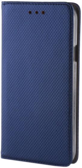 GreenGo Smart Magnet Book Case For Nokia 5.1 Plus Navy Blue