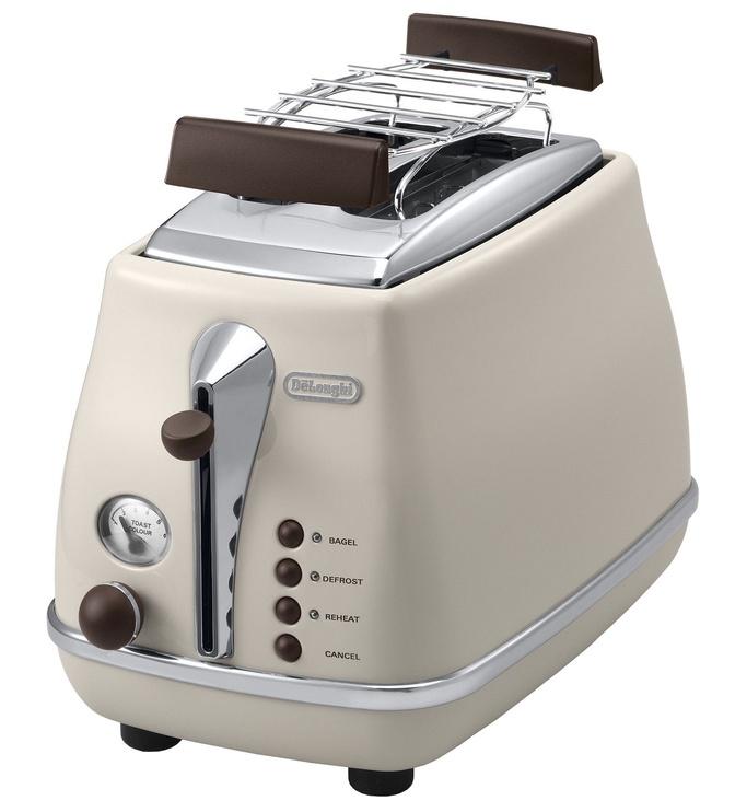 Delonghi Toaster Icona Vintage CTOV 2103 Beige