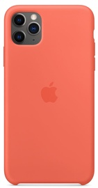 Apple Silicone Back Case For Apple iPhone 11 Pro Max Clementine Orange
