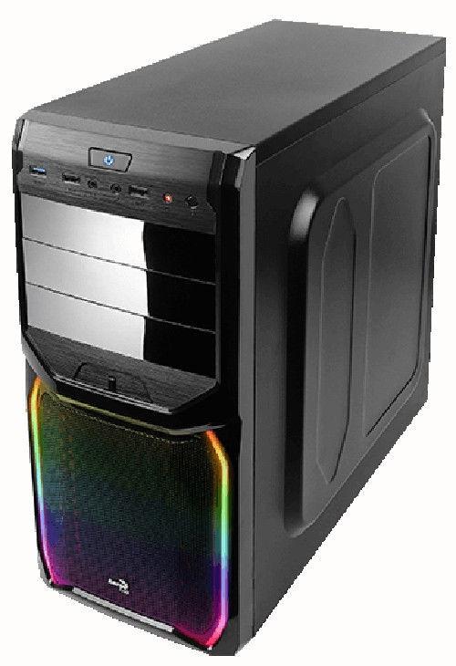 Aerocool Case V3X RGB Black