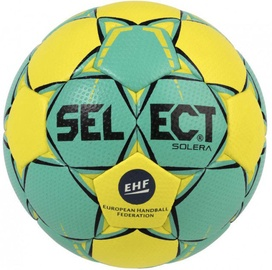 Select Solera Senior EHF 2018 Green/Yellow Size 3