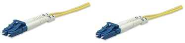 Intellinet LC-LC Fiber Optic Patch Cable OS-2 Yellow 5m
