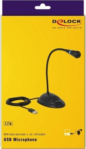 Delock USB Gooseneck Microphone