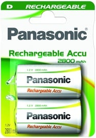Panasonic NiMh P20P rechargeable battery 1 x D 2800mAh