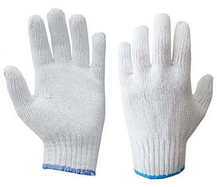 DD Gloves Knitted White