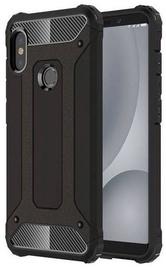 Hurtel Hybrid Armor Back Case For Xiaomi Mi A2 Black