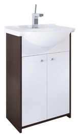 Elita Cabinet With Sink Rufi 165722 50cm Brown/White
