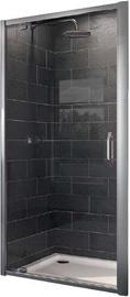 Huppe X1 Shower Doors 1000x1900mm Silver/Transparent