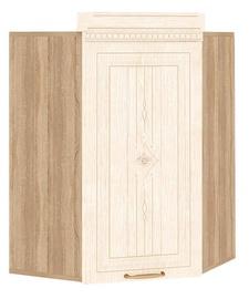 DaVita Šarlotta 73.20 Kitchen Upper Cabinet Sonoma Oak/Beige