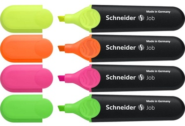 Schneider Pen Job Highlighter 4pcs 1500