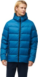 Audimas Mens Down Jacket Maroccan Blue XL