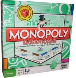 Lauamäng Hasbro Monopols 00009, RUS