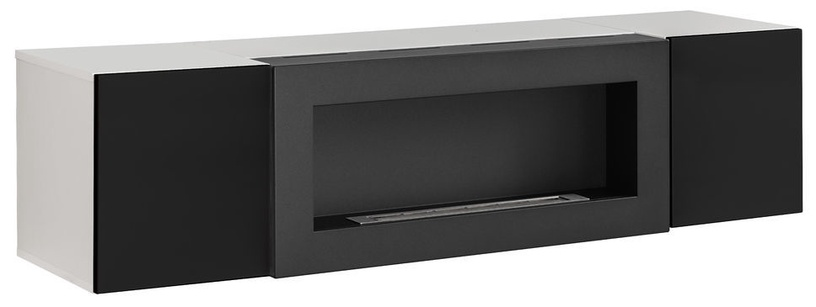 ASM Fly M1 Living Room Wall Unit Set Black/White