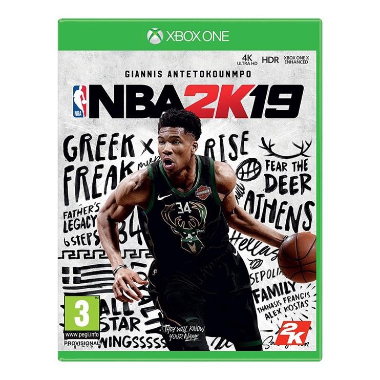 Arvutimäng NBA 2K19, Xbox One