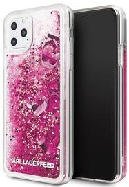 Karl Lagerfeld Glitter Back Case For Apple iPhone 11 Pro Max Rose Gold