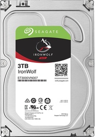 Seagate IronWolf HDD NAS 3TB 5900RPM SATAIII 64MB ST3000VN007
