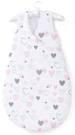 Laste magamiskott MamoTato Bubble Hearts, 75 cm