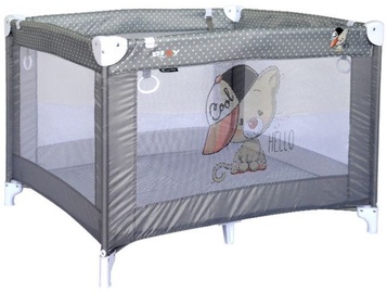 Bertoni Lorelli Baby Cot Play Grey Cute Cat