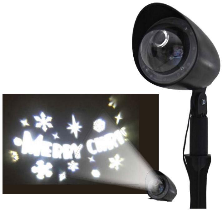Giocoplast Natale Christmas Laser Projector Merry Christmas