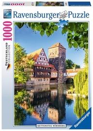 Ravensburger Puzzle  Kettensteg Nuremberg Germany 1000pcs