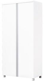 Riidekapp Bodzio AG10 White, 90x50x190 cm