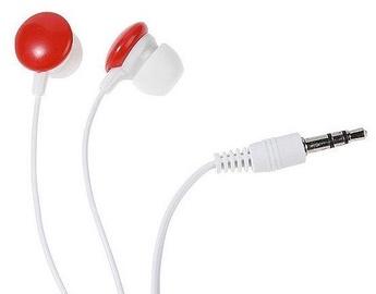 Vivanco Earphones SR3 Red