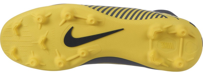 Nike Mercurial Superfly 6 Club MG AH7363 070 Gray/Yellow 40.5
