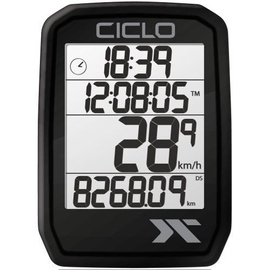 CicloSport Protos 205 Wireless Bike Computer Black