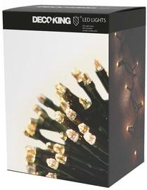Электрическая гирлянда DecoKing LED, теплый белый, 1043 см