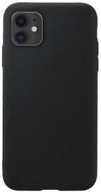 Hurtel Soft Flexible Rubber Back Case For Apple iPhone 11 Black