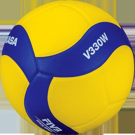Mikasa Volleyball V330W Yellow/Blue