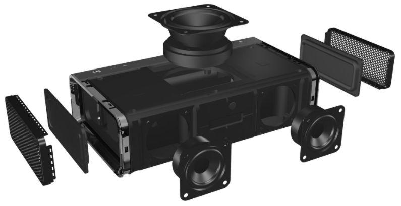 Juhtmevaba kõlar Creative Sound Blaster ROAR Pro Black, 33 W