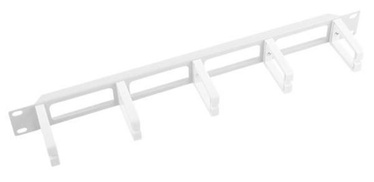 Lanberg Cable Management Panel 19'' Gray