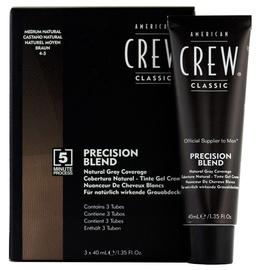 Juuksevärv American Crew Precision Blend 4-5 Medium Natural, 3x40 ml
