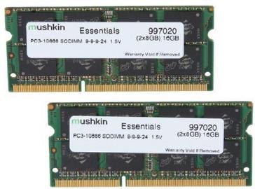 Mushkin Essentials 4GB 1333MHz CL9 DDR3 SO-DIMM Kit Of 2 996646