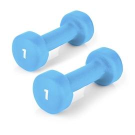 Spokey Shape IV 2 x 1kg Blue