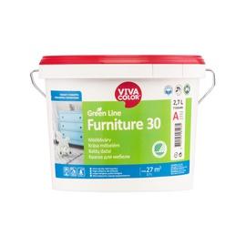 Mööblivärv Furniture 30 A-alusvärv valge 2,7l