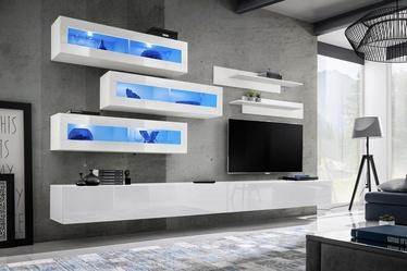 ASM Fly K2 Living Room Wall Unit Set White