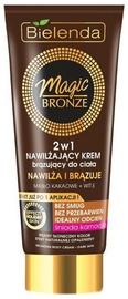 Isepruunistav kreem Bielenda Magic Bronze Moisturizing Bronzing 2in1 Dark Skin, 200 ml