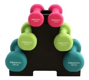 ProIron Neoprene Dumbbell Set 6pcs 12kg