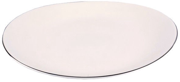 Quality Ceramic Sense Platinum Dinner Plate 28cm