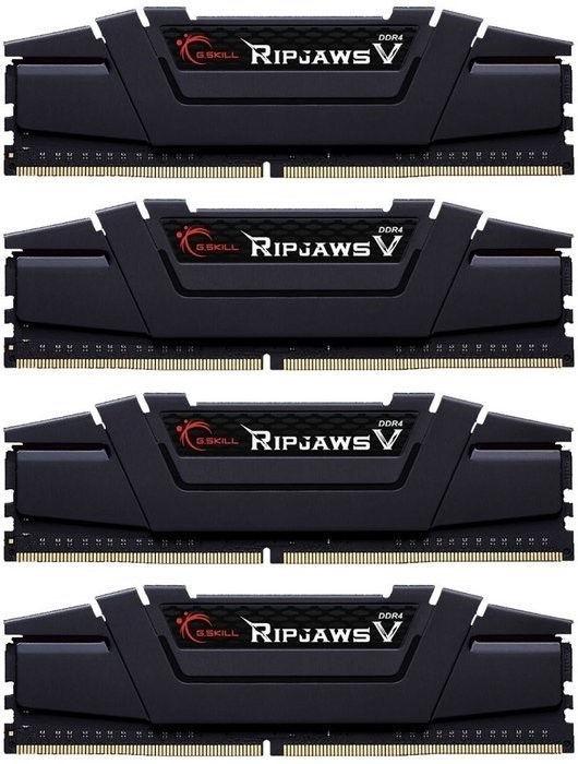 G.SKILL RipjawsV 16GB 3200MHz DDR4 CL16 rev2 DIMM KIT OF 4 F4-3200C16Q-16GVKB