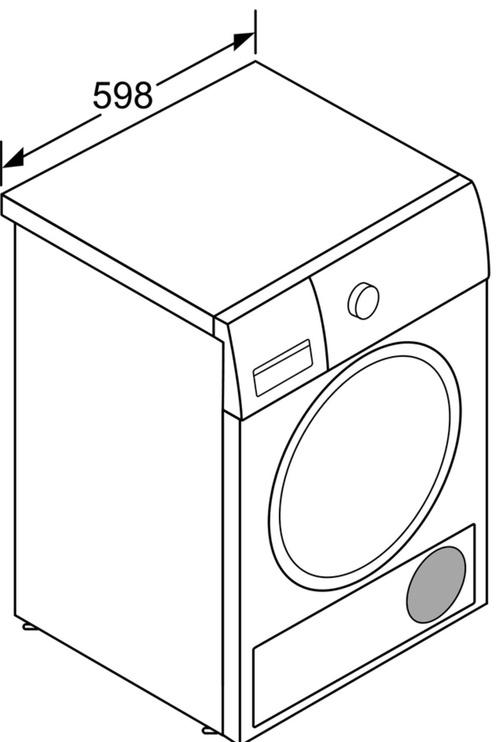 Kuivati Bosch WTR83V00