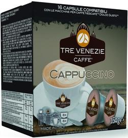 Cafee Tre Venezie Cappuccino komposteeritavad kohvikapslid, 16 kapslit