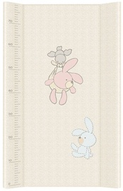 Ceba Baby Hard Changing Mat Long Bunnies Grey