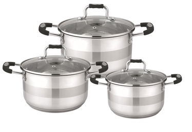 Domoletti Stainless Steel Cookware Set 6pcs